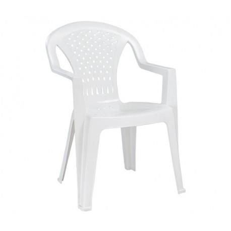 PORTOFINO καρέκλα πλαστική λευκή