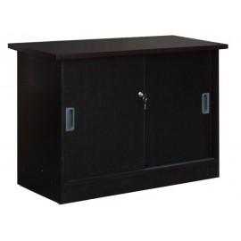eo125,3 ντουλάπι-Α ΠΛΑΊΝΟ WENGE 100x45 cm