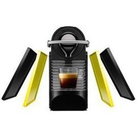 XN3020S KRUPS ΚΑΦΕΤΙΕΡΑ Nespresso Pixie Clips ΜΑΥΡΟ/ΚΙΤΡΙΝΟ + 16 ΚΑΨΟΥΛΕΣ ΔΩΡΟ+ ΔΩΡΟ ΚΟΥΠΟΝΙ ΑΞΙΑΣ 30E