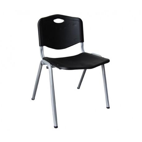 STUDY καρέκλα Μέταλλο/Πλαστικό Μαύρο eo549,1