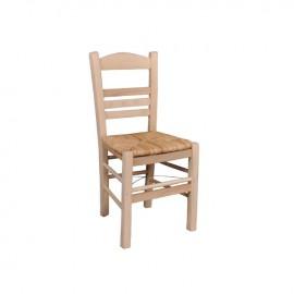 Ρ969,Ε1 ΣΙΦΝΟΣ Καρέκλα Ψάθα Εμποτ.Φυσικό