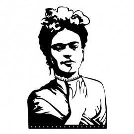 119-000925 Μεταλλικό διακοσμητικό τοίχου Frida Kahlo 32x0,3x49εκ