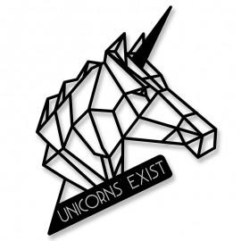 119-000916 Μεταλλικό διακοσμητικό τοίχου Unicorn 40x0,3x55εκ