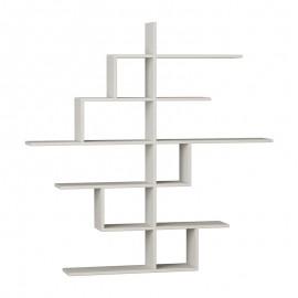119-000836 Ραφιέρα Cizgi No 4 χρώμα λευκό 150x20x150εκ