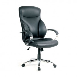 ΕΟ252 BF5300 Πολυθρόνα Διευθ.Μαύρη