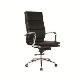 ΕΟ234 BF4800 Πολυθρόνα Διευθ.Μαύρη