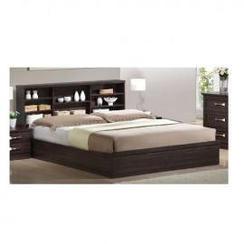 ΕΜ362 LIFE Κρεβάτι-Ράφια 160x200 Zebrano