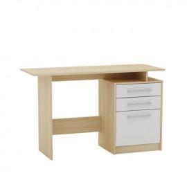 ΕΟ3036,7 DECON Γραφείο 120x48cm απόχρ.Σημύδας/Άσπρο