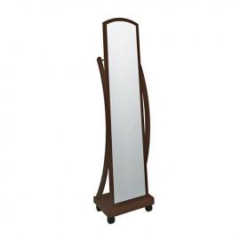 Ε7183,2 ROGER Καθρέπτης Δαπέδου 44x29x165cm Καρυδί