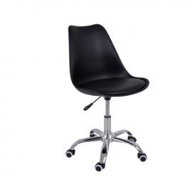 ΕΟ201,1 MARTIN Καρέκλα γραφείου PP/Pu Μαύρο