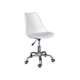 ΕΟ201,2 MARTIN Καρέκλα γραφείου PP/Pu Άσπρο