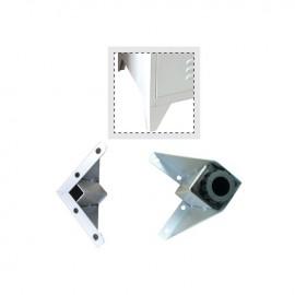 Ε600Α,1 Ποδαράκια-Ρεγουλατόροι Γκρι Set-4 (για Ε600*)