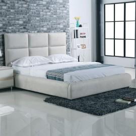 Ε8080 MAXIM Κρεβάτι 160x200cm Ύφασμα Grey-Stone