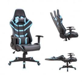ΕΟ588,2 BF9050 Gaming Πολυθρόνα Διευθυντή Pvc Μαύρο/Μπλε