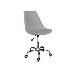 ΕΟ201,4 MARTIN Καρέκλα γραφείου PP/Pu Γκρι