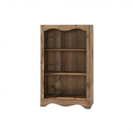 Ε8716 SCARLET Βιβλιοθήκη 2-Ράφια 83x32x136cm Antique Oak