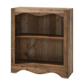 Ε8715 SCARLET Βιβλιοθήκη 1-Ράφι 83x32x95cm Antique Oak