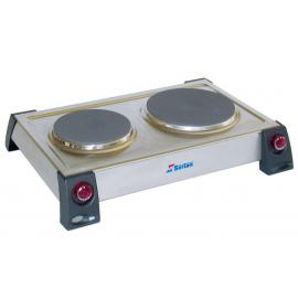 Serton 553 Ανοξείδωτη Ηλεκτρική Εστία 1000/1500w