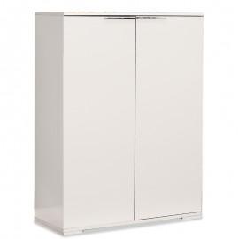 039-000009 Ντουλάπι-Παπουστοθήκη Ultra 24 ζεύγων λευκό 85x36x118εκ