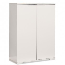 039-000009 Ντουλάπι-Παπουτσοθήκη Ultra 24 ζεύγων λευκό 85x36x118εκ