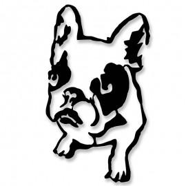 119-000920 Μεταλλικό διακοσμητικό τοίχου Dogo 32x0,3x54εκ
