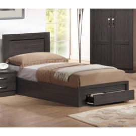 em3631 LIFE κρεβάτι με συρτάρι 100Χ200 ΕΚ zebrano