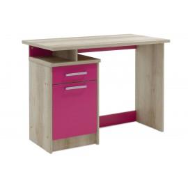 123-000081 Γραφείο παιδικό Looney pakoworld χρώμα castillo-ροζ 100x55x75εκ