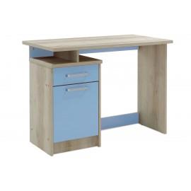 123-000080 Γραφείο παιδικό Looney pakoworld χρώμα castillo-μπλε 100x55x75εκ
