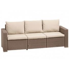 Τριθέσιος καναπές εξωτερικού χώρου