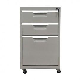 Ε6007,1 Συρταριέρα Μεταλλική 40x50x67cm Γκρι