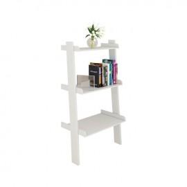 Ε748,3 STEP Βιβλιοθήκη-Ραφιέρα 56x33x101cm Άσπρη