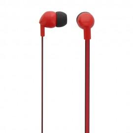 Ακουστικά ψείρες με μικρόφωνο και handsfree Κόκκινο ESBCRD