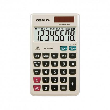 Αριθμομηχανή τσέπης 8 ψηφίων OS-403TV