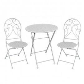 3-50-207-0091 Σετ Τραπέζι Με 2 Καρέκλες