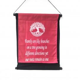 O-NYO15RED Κρεμαστό Διακοσμητικό Καδράκι με όμορφα χρώματα και μοντέρνα σχέδια. Χρώμα Κόκκινο, 38x45. O-NYO15RED