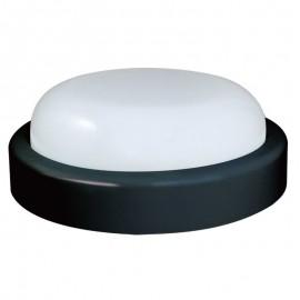 300155 Φωτιστικό B74320 Sunfos LED Στρογγυλό 15W 1200Lm 6500K Εξωτερικών χώρων IP54 Μαύρο
