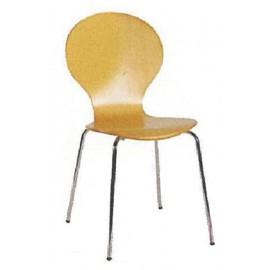 13820---91Χ2 Welltrust κάθισμα αναμονής ξύλινο σκελ. inox