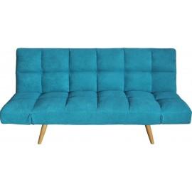 e941,3 Motion Τριθέσιος Καναπές Κρεβάτι Microfiber ΓΑΛΑΖΙΟ 182x81cm