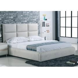 Κρεβάτι διπλό Maxim 160X200 Ύφασμα Grey-Stone e8080