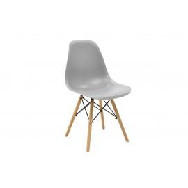 023-000002 Καρέκλα Julita PP χρώμα γκρι επαγγελματική κατασκευή