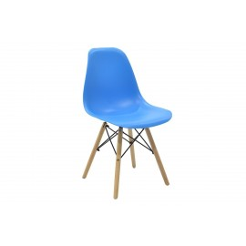023-000005 Καρέκλα Julita PP χρώμα μπλε επαγγελματική κατασκευή