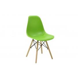 023-000008 Καρέκλα Julita PP χρώμα πράσινο επαγγελματική κατασκευή