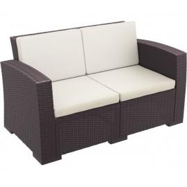 Διθέσιος καναπές Monaco ΚΑΦΕ