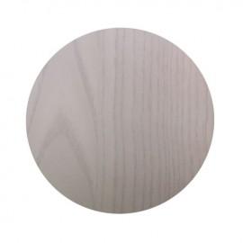 e123,4 VENEER ΚΑΠΑΚΙ ΤΡΑΠΕΖΙΟΥ ΕΠΙΦΑΝΕΙΑ WHITE WASH ΚΑΠΛΑΜΑΣ Φ60 ΕΚ