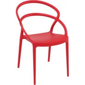 Siesta PIA Πολυθρόνα απο πολυπροπυλένιο ΣΕ 6 ΧΡΩΜΑΤΑ